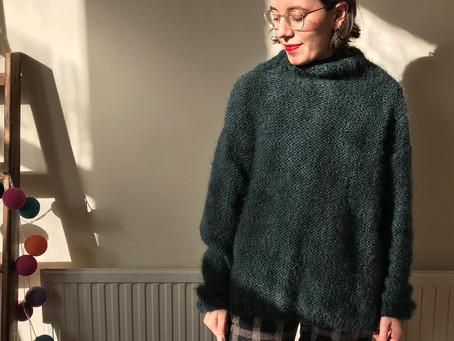 Powder Green Hotline Sweater