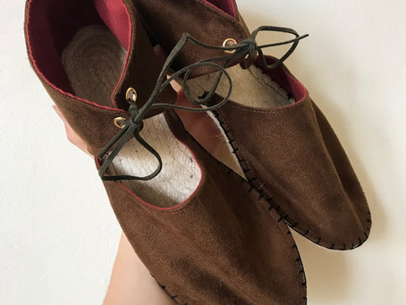 Sew yourself some cruelty free sandals