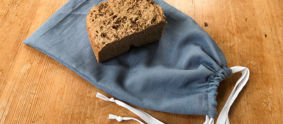 Draw string bread bag