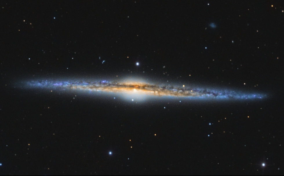 M106 Galaxy's Core