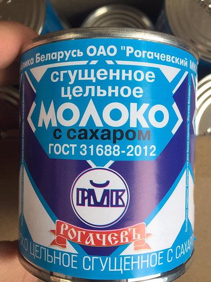 """Сгущенное Молоко """"РОГАЧЕВ"""" 380 гр."""