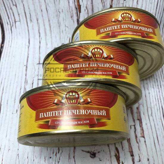 """Паштет печеночный с маслом """"Рузком"""" 230 г"""