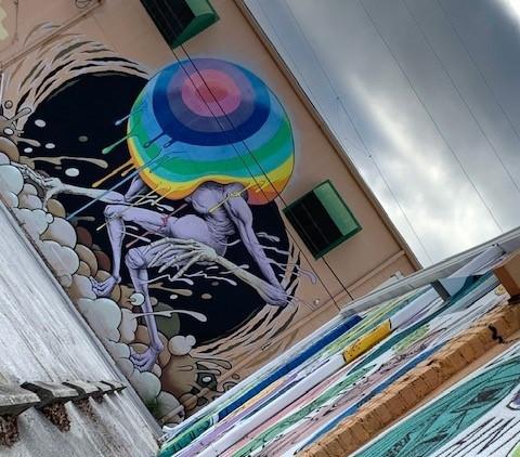 st pete art and mural biking tour