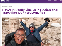 Being Asian and travelling during Covid 19