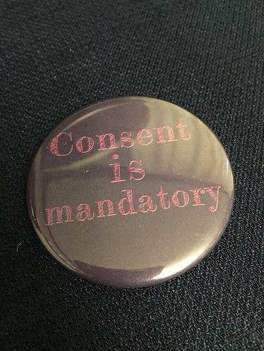 Consent is mandatory