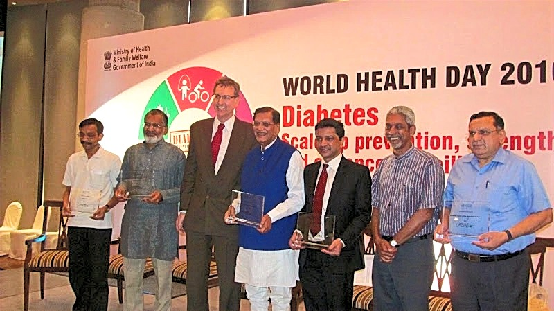 WHO 'Health Champion' award 2016