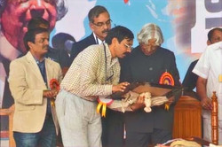 Sharing moment with Dr, APJ Kalam during