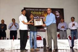 Felicitation by'Deepstambha' foundation