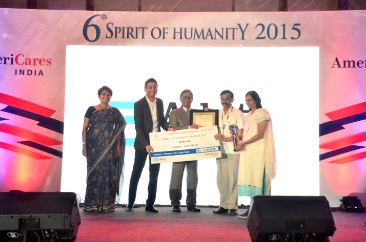 'Spirit of Humanity Award 2015'