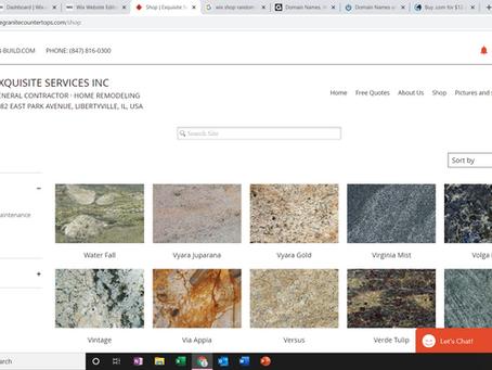 Website update! Store Makeover!