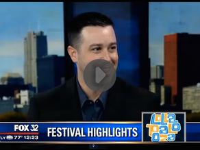 Ryan (Jordan) On Fox Chicago Previewing Lollapalooza