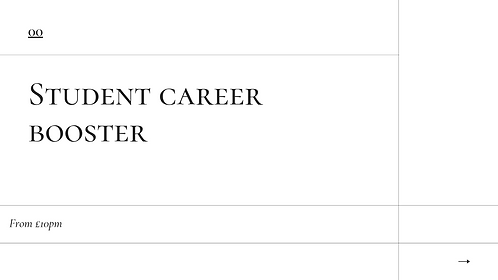 Student Career Booster
