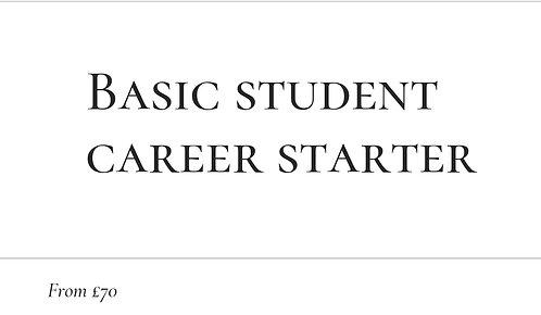 Basic Student Career Starter
