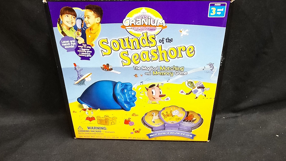 Sounds of the Seashore Matching & Memory Game