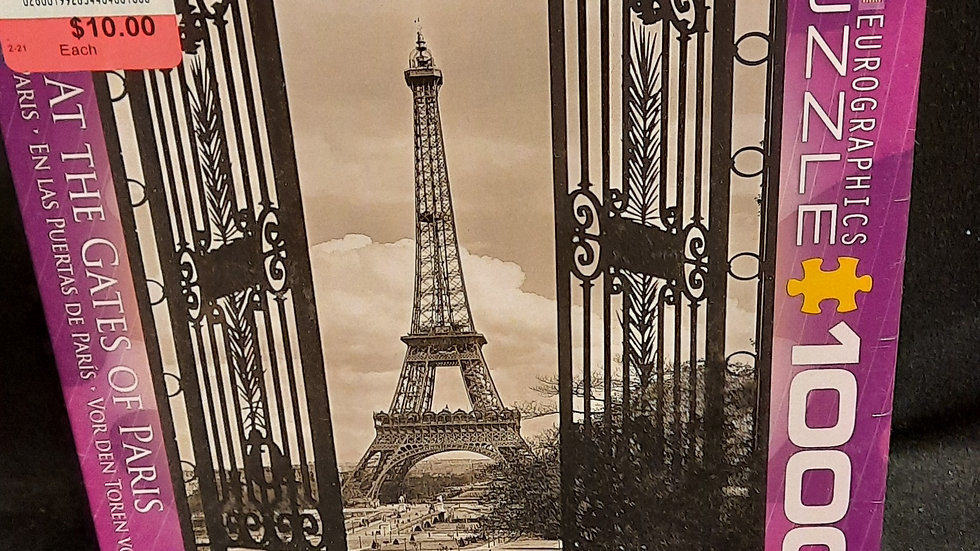 1000 piece At the Gates of Paris puzzle