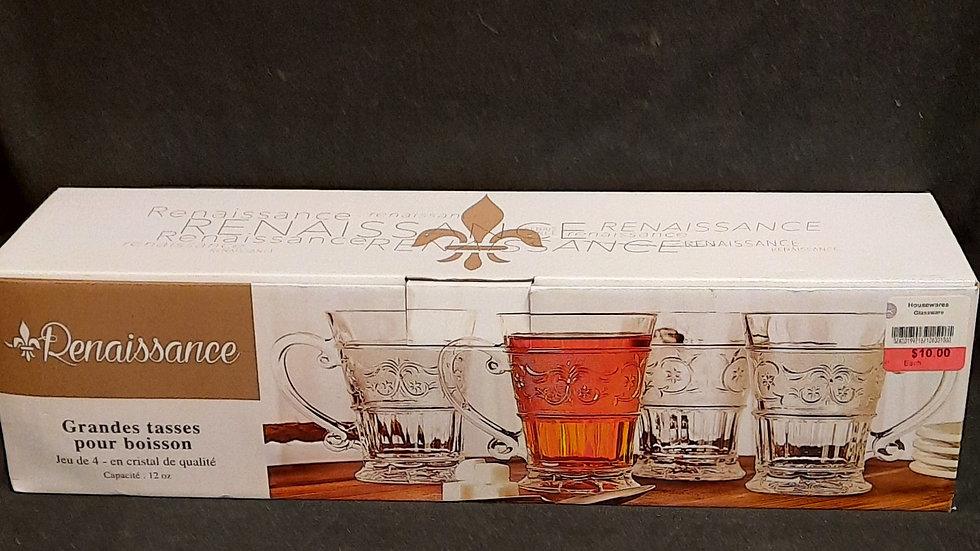 Renaissance Crystal cups