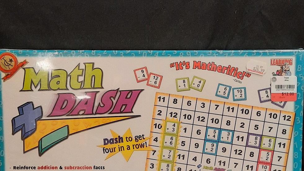 Math Dash learning math game