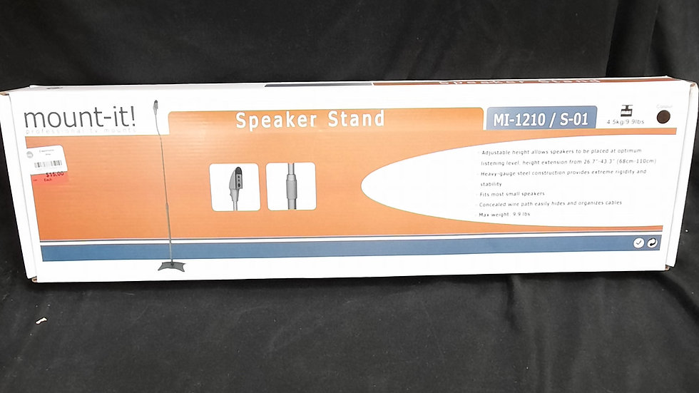 Mount It Speaker Stand