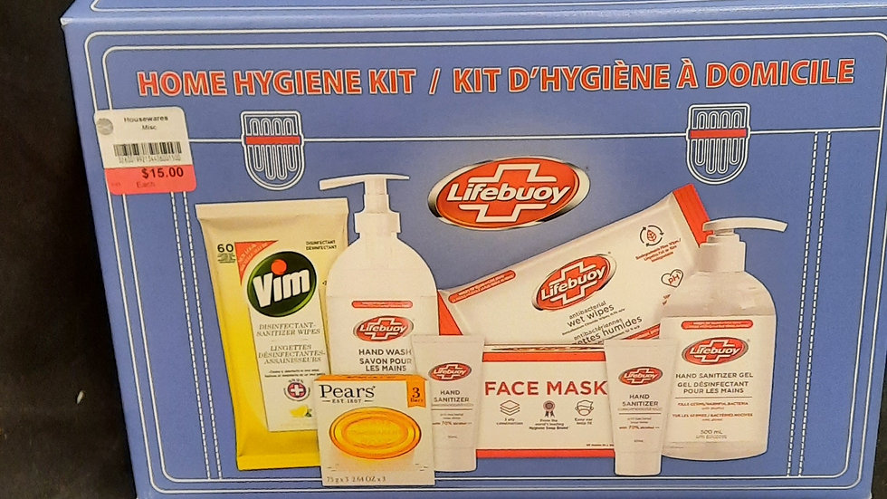 Lifeblood Home Hygiene Kit