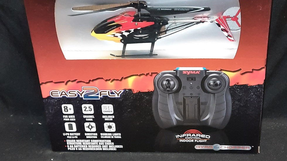 Easy to Fly R/C Helicopter