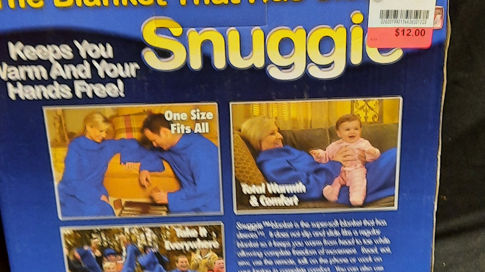 Snuggle - The Blanket with Arms