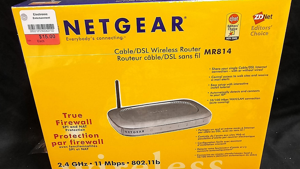 Netgear Cable/DSL Wireless Router