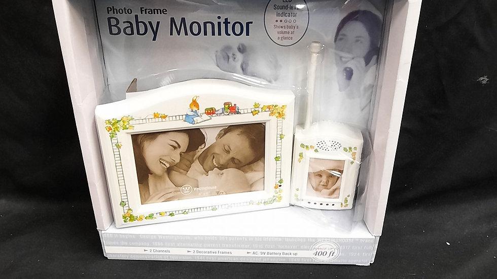 Photo Frame Baby Monitor with Sound Level Indicator