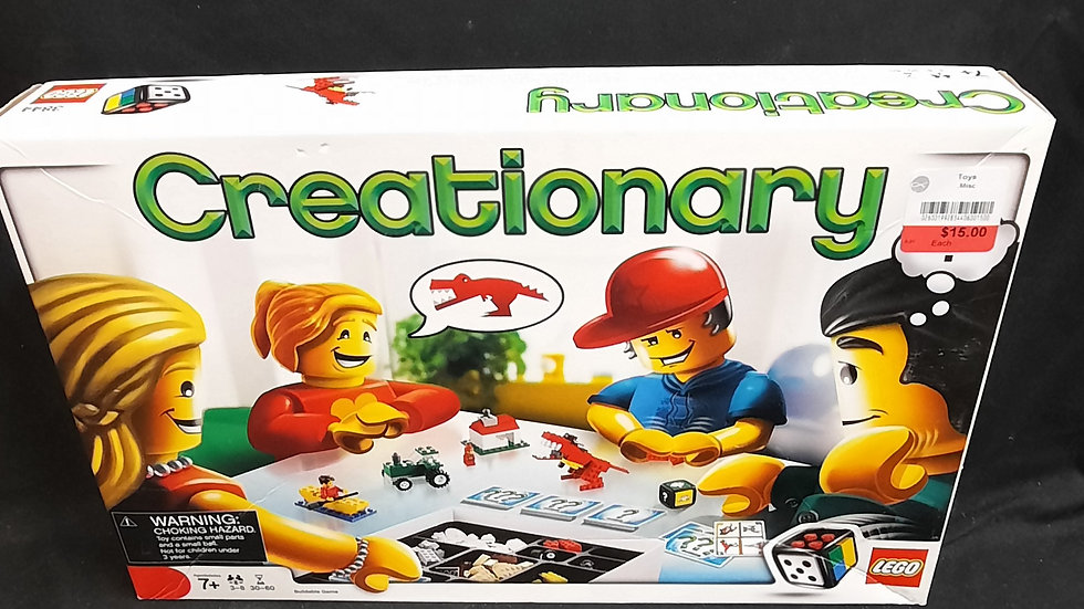 Creationary Lego set