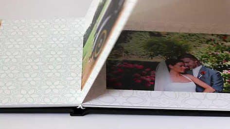 Board Mounted Photo Book