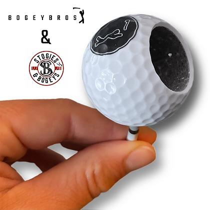 Golf Ball Cigar Holder
