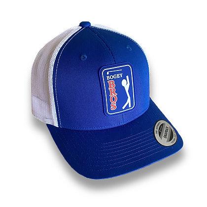 Bogey Bros Association - Curved Bill - Blue