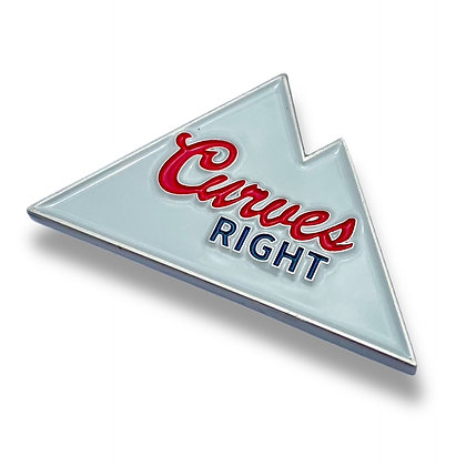 Curves Right - Ball Marker