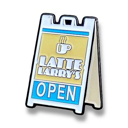 Latte Larry's - Ball Marker