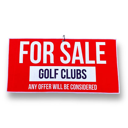 CLUBS FOR SALE - Towel