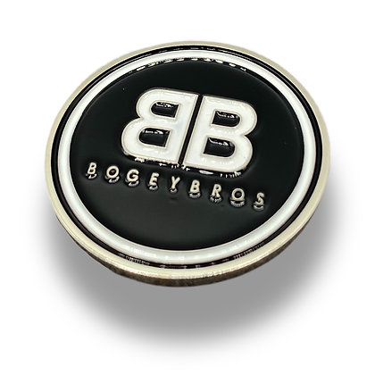 Bogey Bros Logo - Ball Marker