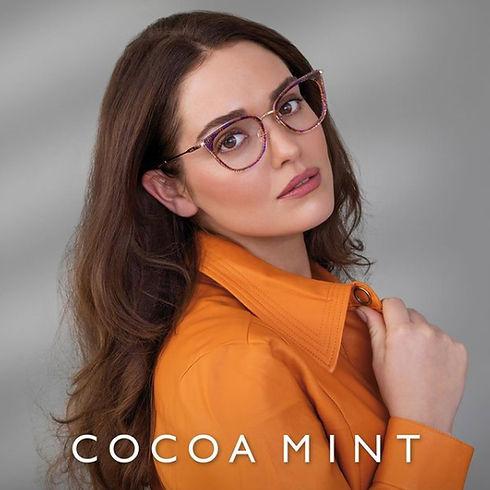 cocoa mint Designer Frames