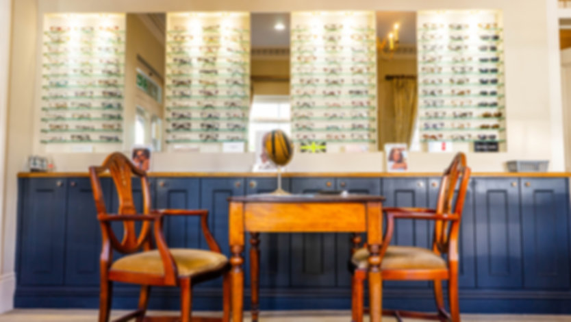 Inside Burnham-on-Crouch Opticians