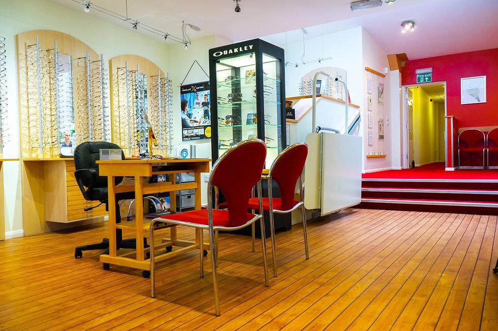 Wigram & Ware King's Lynn Glasses Display