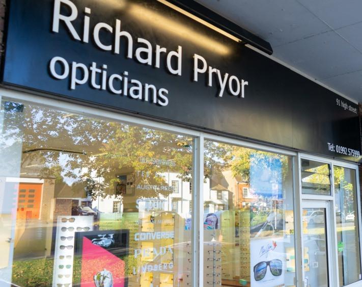 Outside Epping Optician