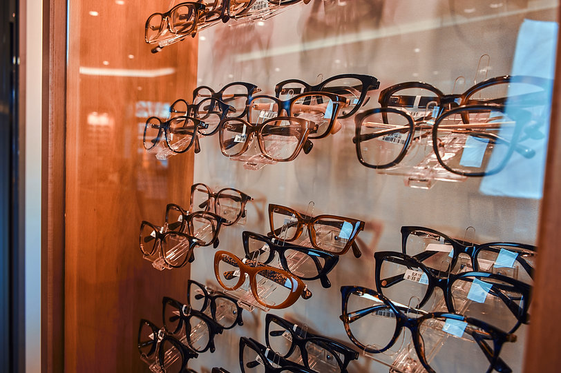 modern-frames-on-showcase-at-optic-store