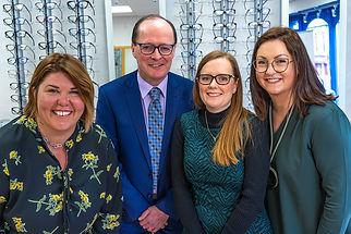 Hughes Opticians team