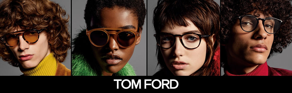 Tom Ford Glasses at Wigram and ware