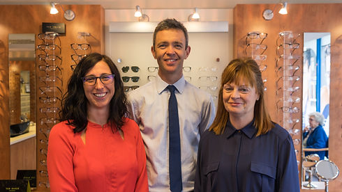 Richard Haynes Opticians Dedicated Team