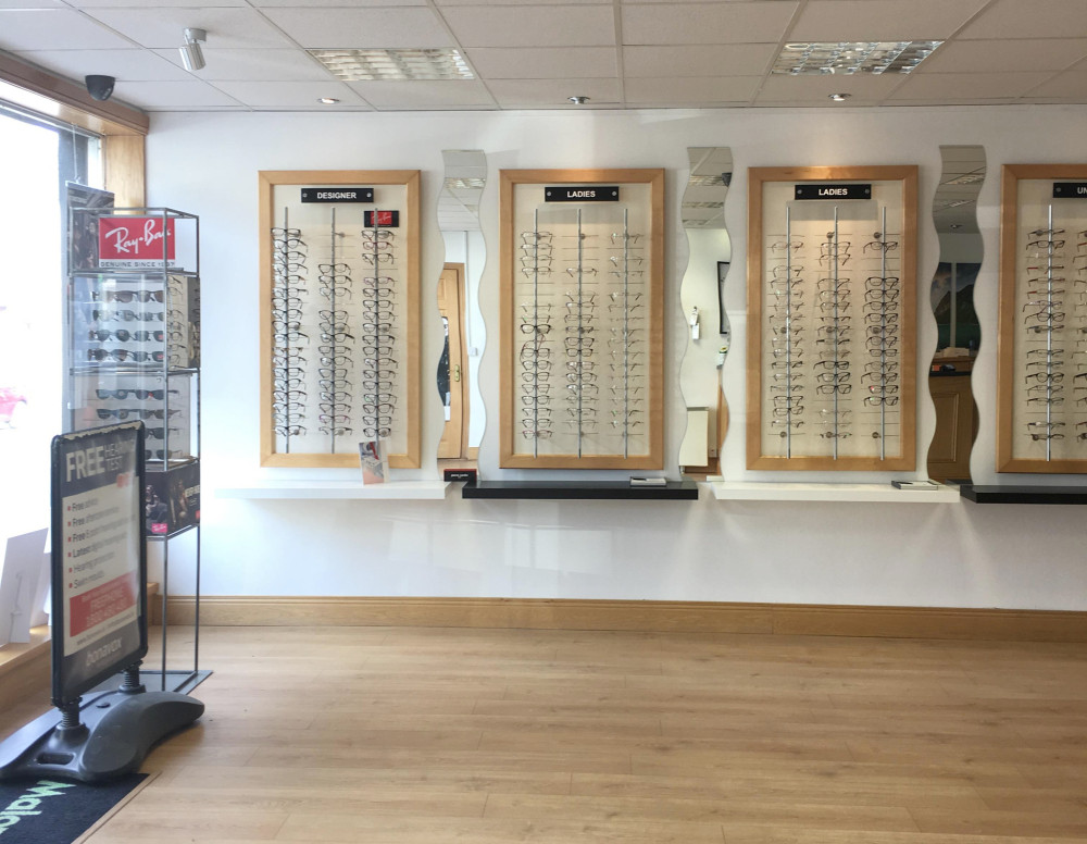 Maloney Keady Opticians practice
