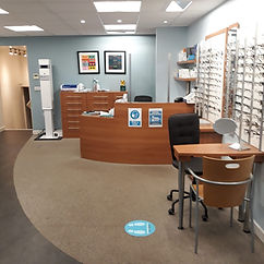ottery opticians reception