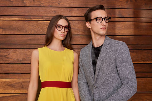 Couple Wearing Hugo Boss Glasses