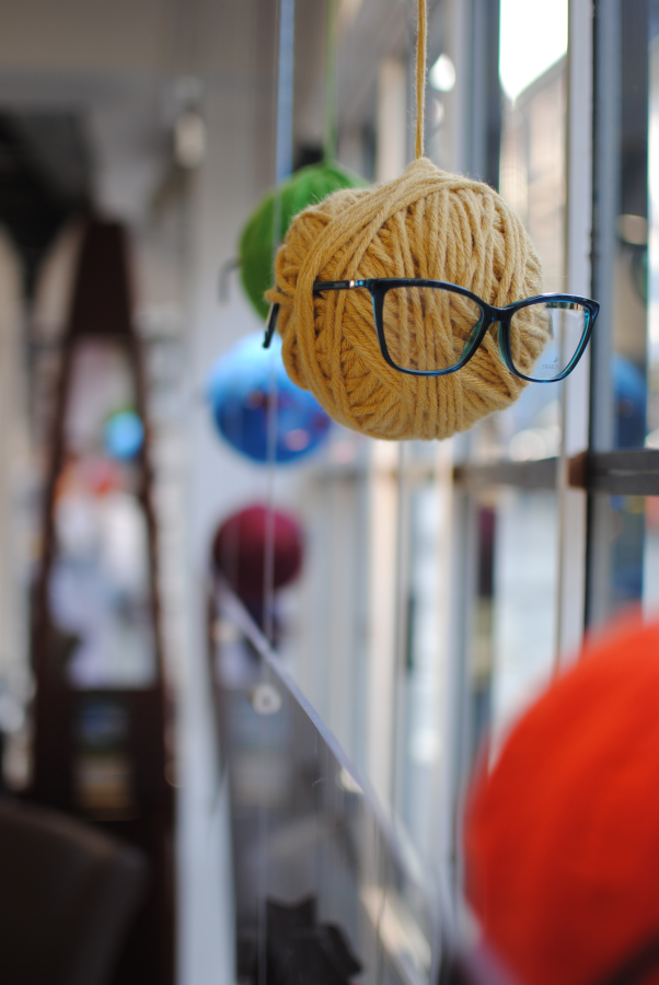 Ellerker Opticians Glasses Wool Ball SMA