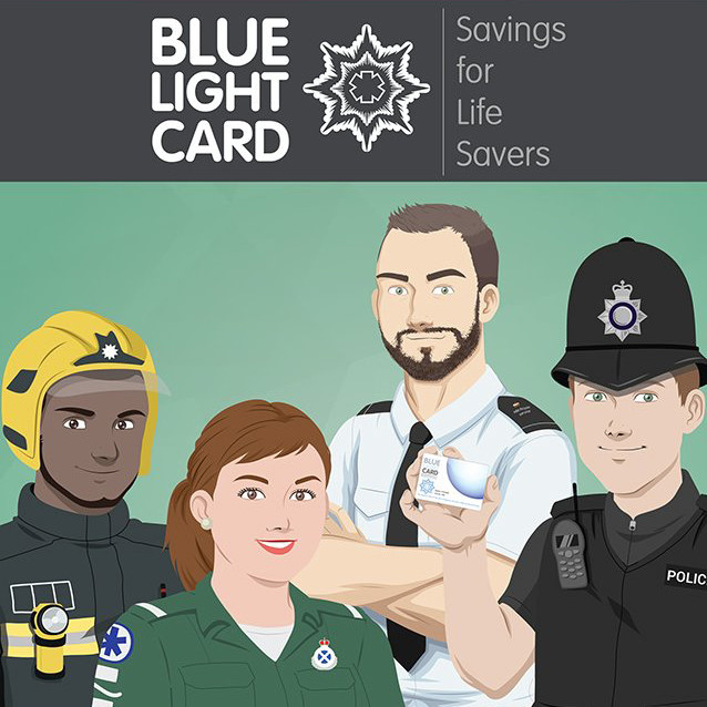 Blue Light Card - Savings For Life Savers