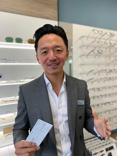 Sen Gurung - Practice Manager & Dispensing Optician