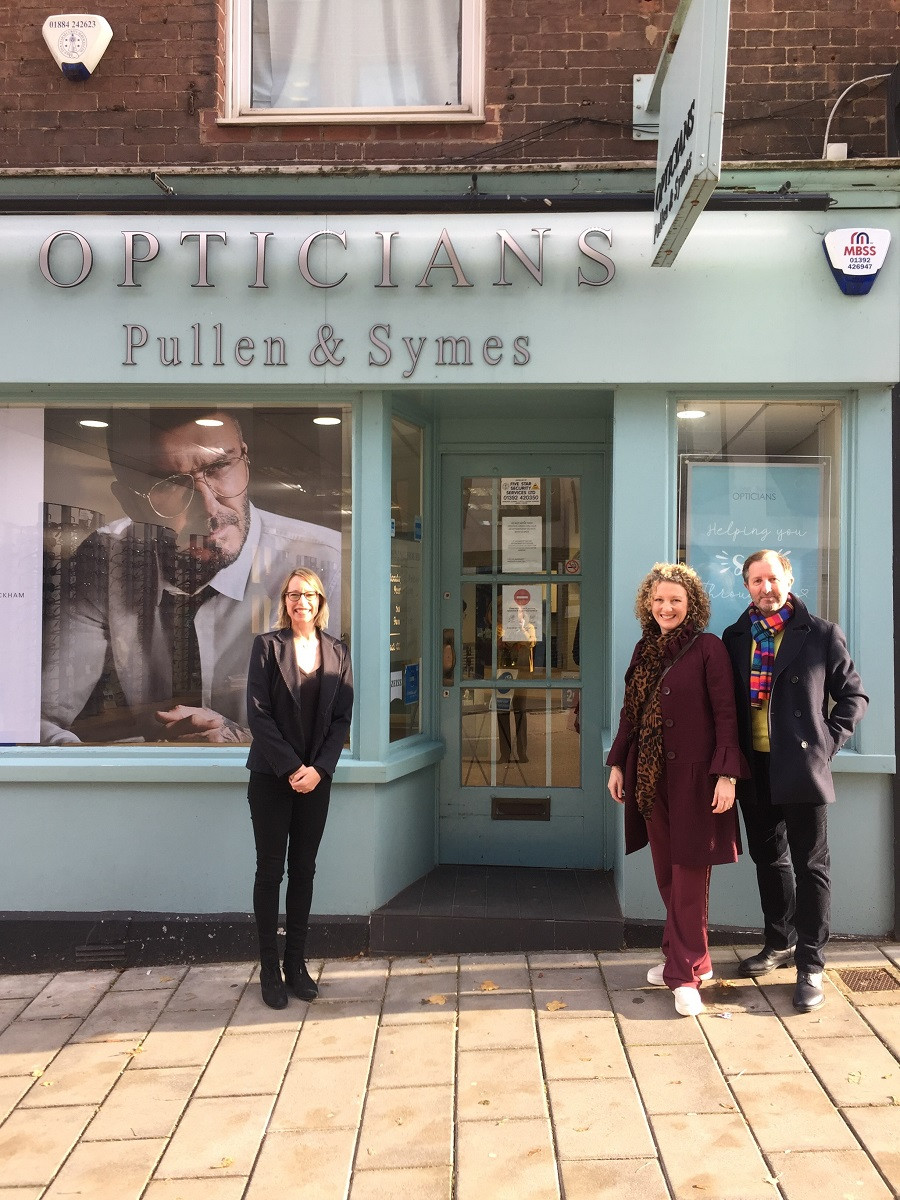 Pullen & Symes Opticians in Exeter